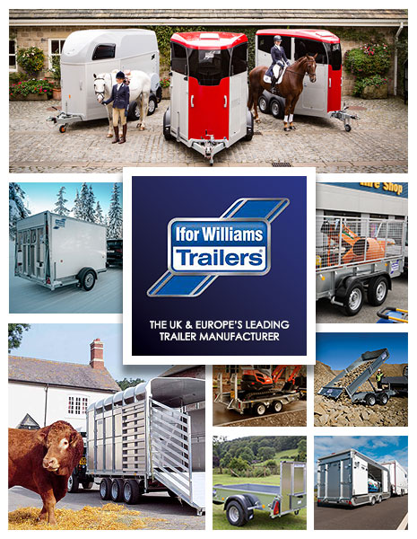 New and used Ifor Williams Trailers at T.H. Jenkinson