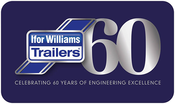 Ifor Williams Trailers - 60 years old - celebrating 60 years of engineering excellence