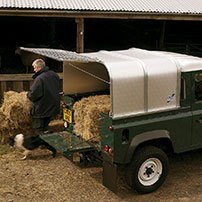 Ifor Williams Canopies for Pickups and Trailers