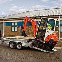 Ifor Williams Plant Trailers